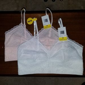 Lily of France bralette set of 2 size Medium